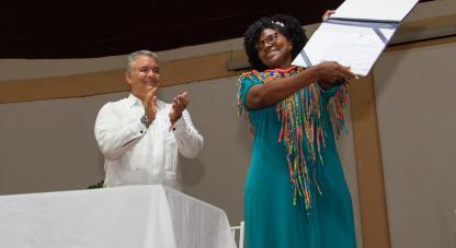 Mabel Torres, Ministra de Ciencia, Tecnología e Innovación