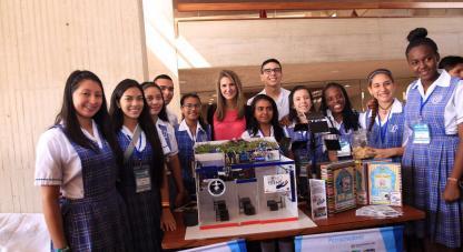 Niños Ondas presentan sus proyectos de investigación en Bogotá y visitan canal RCN