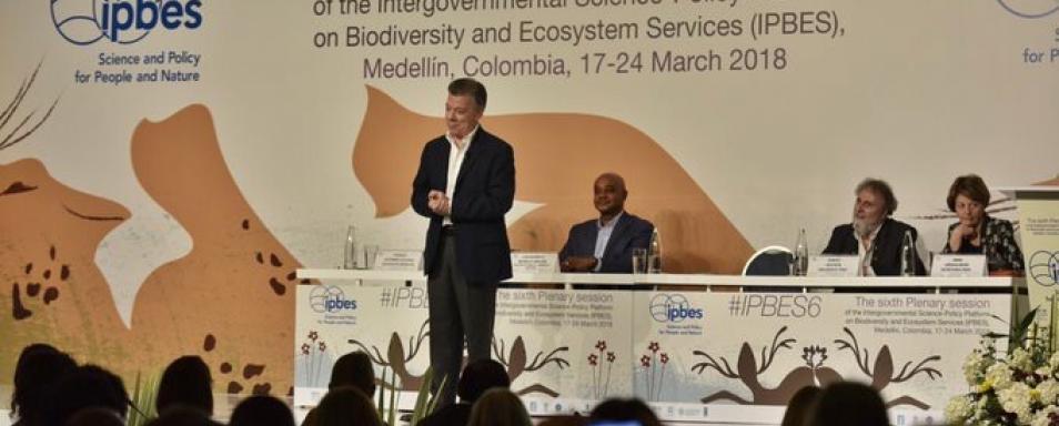 Biodiversidad colombiana participa en la agenda internacional de IPBES
