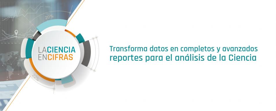 Transforma datos en completos y avanzados reportes para el análisis de la Ciencia