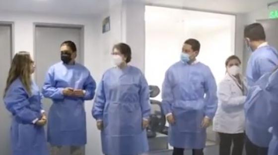 Llegamos al departamento de Córdoba para la inauguración del laboratorio de investigaciones biomédicas de la Universidad Del Sinú.