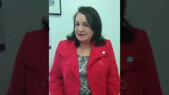Angela Camacho, primera colombiana Doctora en Física