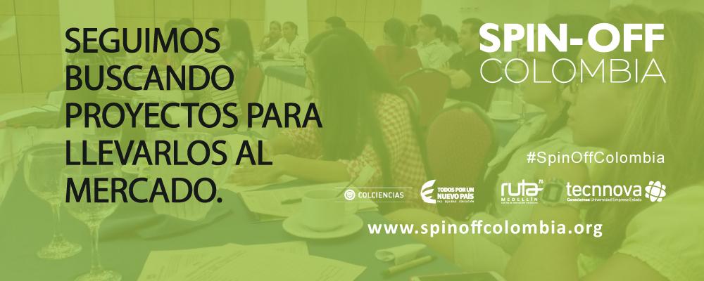 Participa en el Proyecto Spin Off Colombia